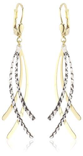 Amor Jewelry Damen-Ohrhänger 8 Karat 333 Gelbgold 361972