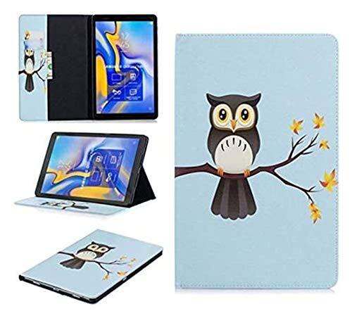 Accesorios de pestañas para Samsung Galaxy Tab a A2 10.5, Funda de Cuero PU de Oso de Flip Owl para Samsung Galaxy Tab a A2 10.5 (Color : 17)