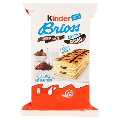 Kinder 10 Brioss Latte & Cacao, 280g