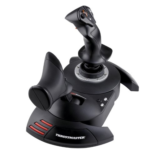 Thrustmaster T-Flight Hotas X + HAWX 2 - Volante/Mando (Palanca de Mando, PC, Playstation 3, Alámbrico, HAWX 2, Negro)