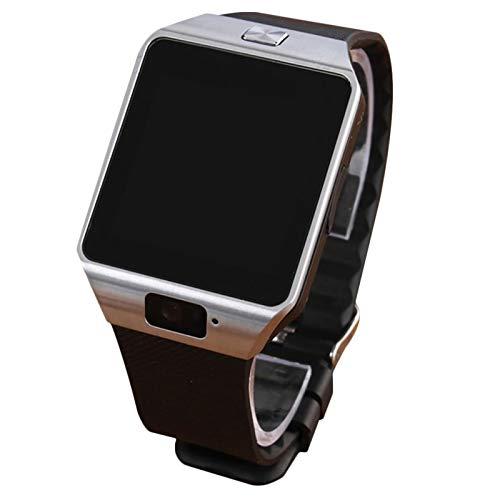 xiaoxioaguo Reloj inteligente digital deportivo dorado con podómetro, reloj de pulsera para hombre y mujer.