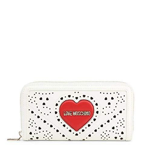 Portafoglio donna heart embroidery cod.JC5624PP0AKC - LOVE MOSCHINO (BIANCO)