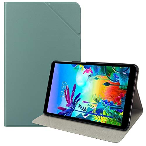 KuRoKo LG G PAD 5 10.1 Book Case, Slim Stand Protective Case Folio Cover with Multi-Viewing Angles for 10.1 inch LG G Pad 5 2019 (Mint)