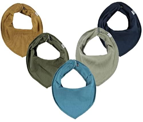 NAME IT Halstuch 5er Set Baby Dreieckstücher Halstücher 5 Stück SPARPACK (Kleiner Racker)