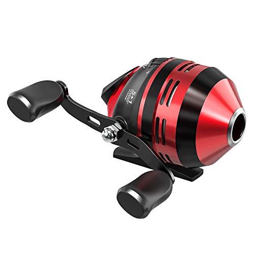 Magreel Carretes de Pesca Carrete Spinning Velocidad 4.3: 1 Relación de Transmisión Bobina de Avance Rápido Intercambiable Izquierda/Derecha