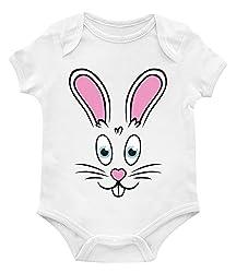 SpiritForged Apparel Easter Bunny Rabbit Face Toddler T-Shirt