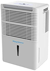 Removes upto 50 pints of moisture from the air per day in a room upto 3000 square feet Designed to dehumidify a room upto 3000 square feet Settings include normal, turbo and auto-defrost Removable, easy-cleaning dust filter with a clean-filter alert ...