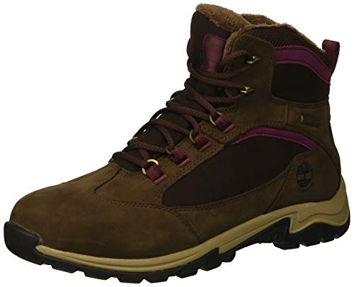 Timberland Women's MT. Maddsen Winter Waterproof Ins Hiking Boot, Dark Brown Nubuck, 11 M US