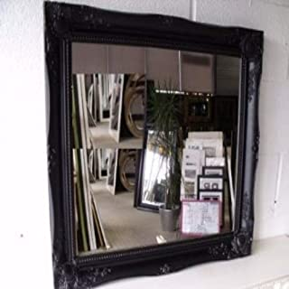 Large Black Mirror Classic Ornate Style 26 X 22