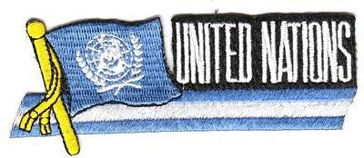 Sidekick Aufnäher Patch UNO Fahne Flagge NEU