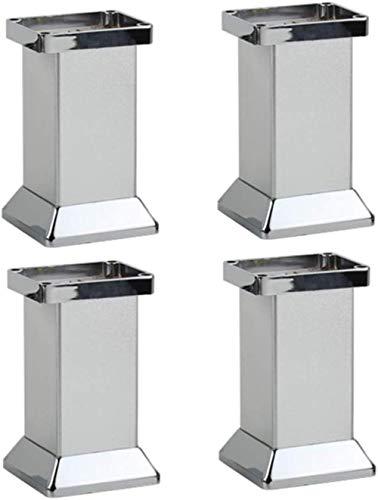 hsj Patas de mesa engrosadas con patas de carga para muebles de televisión, gabinete de habitación, soporte de hardware, armario de baño, gabinete de vino (tamaño: 12 cm)