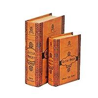 ブック型収納ボックス BOOK BOX 2個セット 28262 【人気 おすすめ 通販パーク】