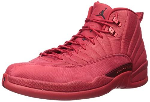 Nike Mens Air Jordan 12 Retro Gym Red/Black Suede Size 9.5