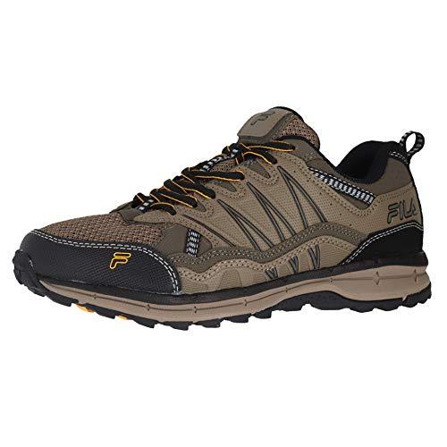 Fila Men's, Evergrand TR Trail Running Sneakers Brown 10 M
