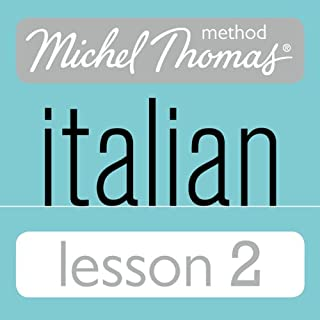 Michel Thomas Beginner Italian Lesson 2 cover art