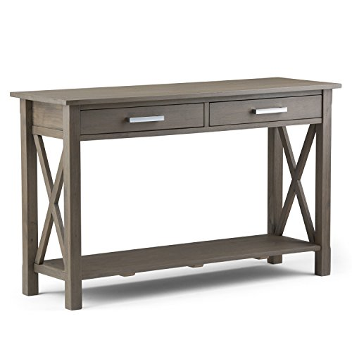 Console Sofa Table, Farmhouse Grey