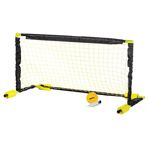 Franklin Sports Water Polo Pool Goal – Floating Water Polo Net Set for Pools – XL Aquaticz Water Polo & Pool Sport Goal Set