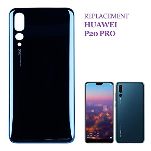 swark, cover posteriore per batteria compatibile con Huawei P20 Pro CLT-L09C CLT-L29C Midnight Blue