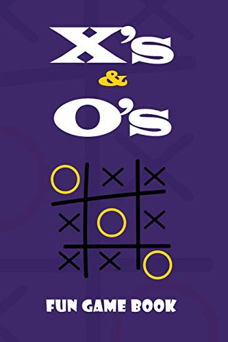 X's & O's Fun Game Book: Blue Tic Tac Toe Game Book, Christmas Game Boys and Girls, Encourage Strategic Thinking Creativity, Fun and Challenge to Play ... or hike, funny love game book for couples