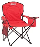 Coleman Portable Quad Camping Chair with Cooler (Renewed)