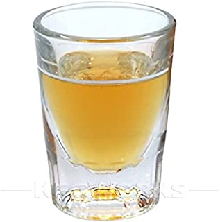 1 X 2 oz Heavy Shot Glass with Line