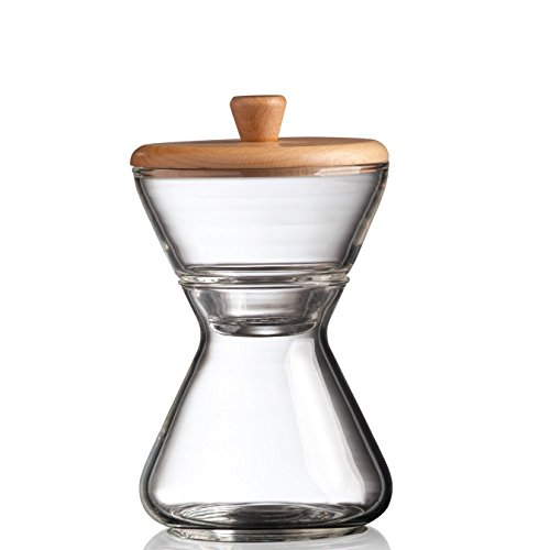 CHEMEX - Hand Blown Glass Cream & Sugar Set