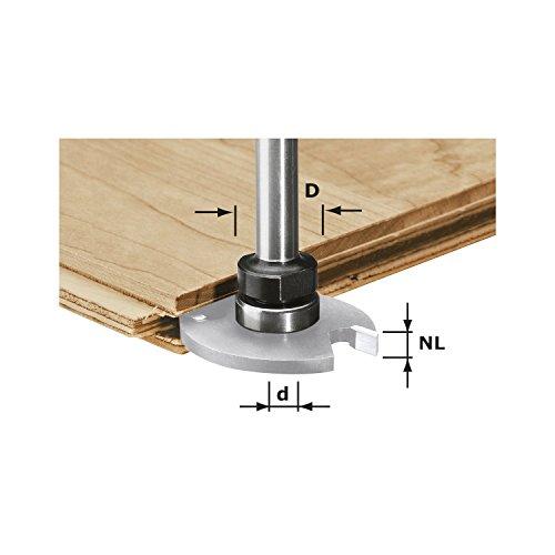 Festool 491061 Frässpindel HW Schaft 8 mm mit Kugellager