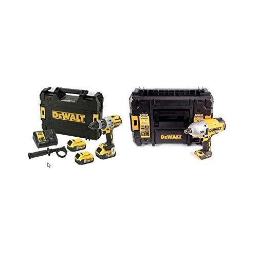 """DeWalt CPROF499 CPROF499-KIT XR = DCD996P2 Taladro XRP con 2 baterías Li-Ion 5,0Ah + DCF897NT Llave Impacto 3/4"""" Alto Par sin escobillas"""