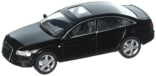 Audi A6, Black - Kinsmart 5303D -1/38 Scale Diecast Model Toy Car, but NO Box