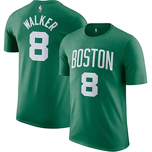 Outerstuff NBA Youth Performance Game Time Team Color Player Name and Number Jersey T-Shirt (Kemba Walker, Large (14/16))