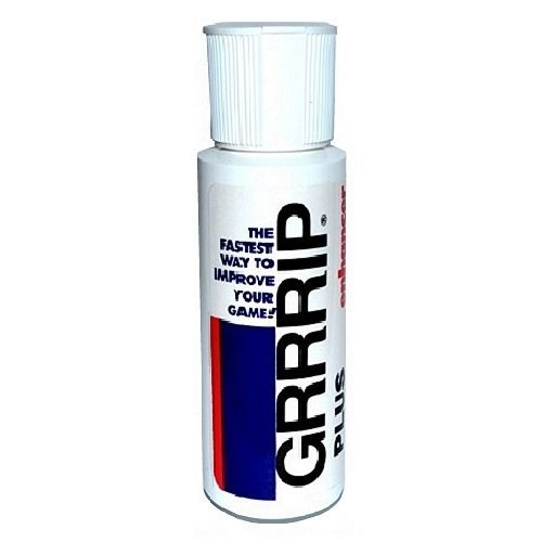 GRRRIP Plus Enhancer, Improve Grip, Dry Hands Grip Lotion (1) - 2 oz. Bottle, 59 ml. Also available in Packs of 2, 4, 8, and 12. Proven results for CrossFit, Tennis, Golf.