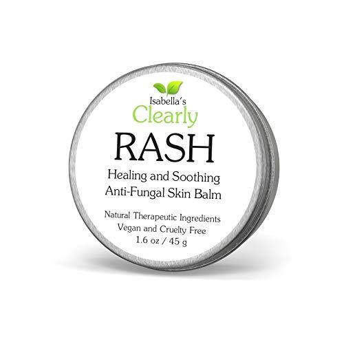 Clearly RASH,bálsamo antimicótico para la piel. Alivio inmediato para la picazón e la piel irritada. Ayuda a tratar la tiña, el pie de atleta, el eccema y las infecciones por hongos en las uñas.