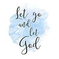 Let Go and Let God Sign Let Go and Let God Wall Decor