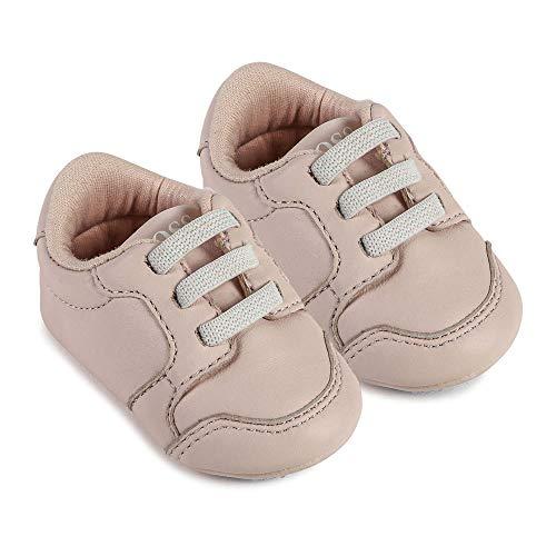 BOSS Baby Krabbelschuhe Mädchen Schue Sneaker Turnschuhe J99078 Rose (Numeric_21)
