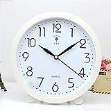 Fengshop Orologio Digitale Orologio da Tavolo Pendoulum Orologio da Parete Soggiorno Orologio da Parete è Ora Personalizzato Creative Table Clock Mute Sveglia Digitale (Color : C)