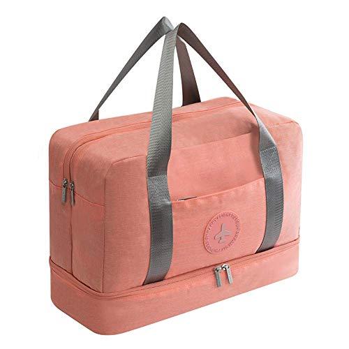 Große Kapazität Trockene und Nasse Trennung Strandtasche Unabhängiges Schuhlager Design Kationisch Wasserdicht