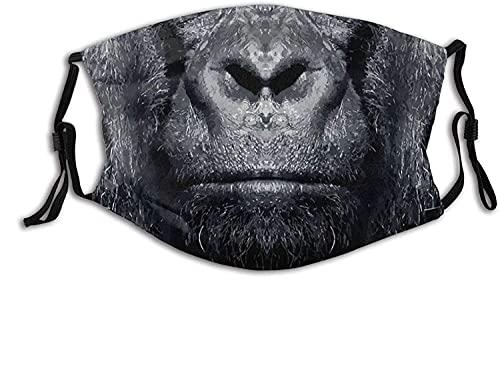 Máscara facial clásica Gorila, transpirable, para deportes al aire...