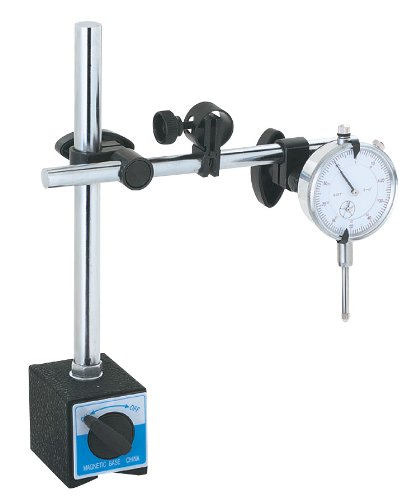 Woodstock D3207 Magnetic Base with Dial Indicator in Case