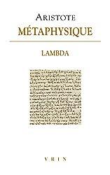Métaphysique - Livre Lambda d'Aristote