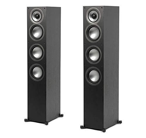 ELAC Uni-Fi 2.0 UF52 Floorstanding Speaker (Each), Black (UF52-BK)