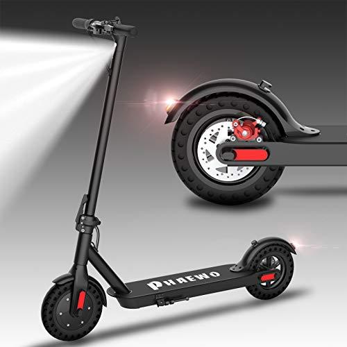 Kugoo Patinetes eléctricos Adulto, Potente Motor de 250 W, neumáticos sólidos de 8.5', hasta 25 km/h, Scooter eléctrico Ultraligero Plegable para Adultos y Adolescentes (ES Garantía)