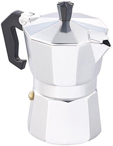 Cucina di Modena Kaffeekocher: Espresso-Kocher für 3 Tassen, für Gas, Elektro-Herd und Ceran-Feld (Espressokocher Outdoor)