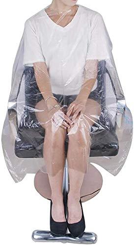Disposable Parts Neck Sjaal Kapsalon Hair Coloring Cutting Hair Dye Shampoo Cape (Pack 100)