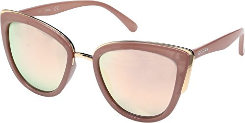 GUESS GF0313 Milky Blush/Rose Gold Mirror Lens One Size