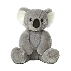 Soft plush Koala bear Cuddly soft fabric Eleven inches tall Aurora World is quality toy manufacturer