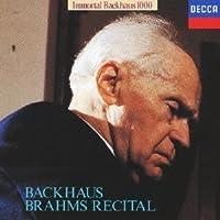 Brahms Recital by Wilhelm Bachhaus