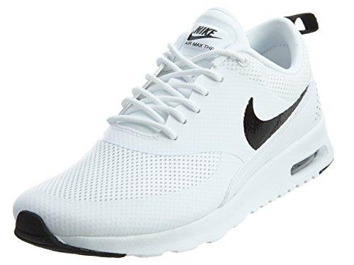 Nike Air Max Thea 599409 Damen Laufschuhe, Elfenbein (White/black), 36.5 EU