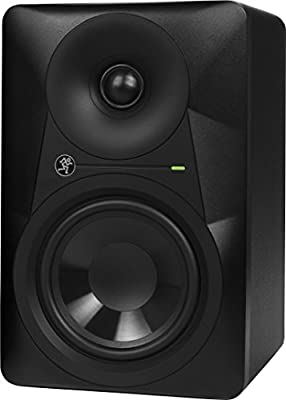 Mackie Studio Monitor, Professional Performance Superior Mix Translation with Logarithmic Waveguide design - Black 5-inch (MR524) by Loud Technologies, Inc.