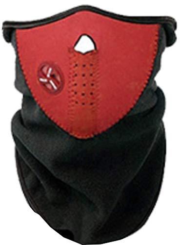Doyeemei Máscara con cuello de neopreno para deportes de invierno,talla única