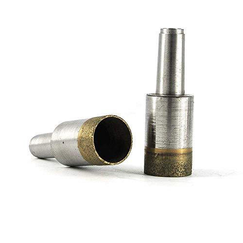Great Price! Xucus 5pcs Sintered taper shank drill bit for marble ceramic granite Length 50mm Diamet...